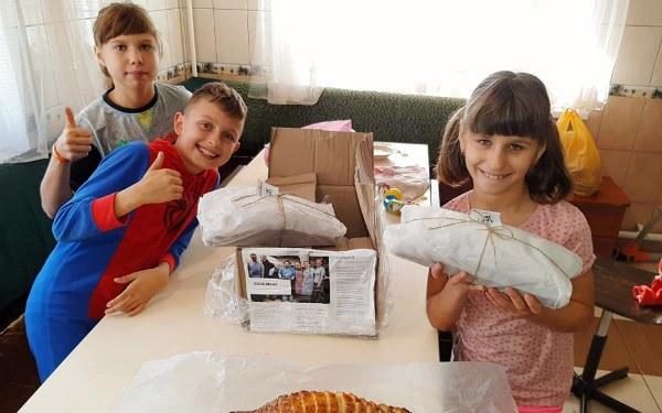 Благодарим необычную киевскую пекарню за продукцию для Детского экосела